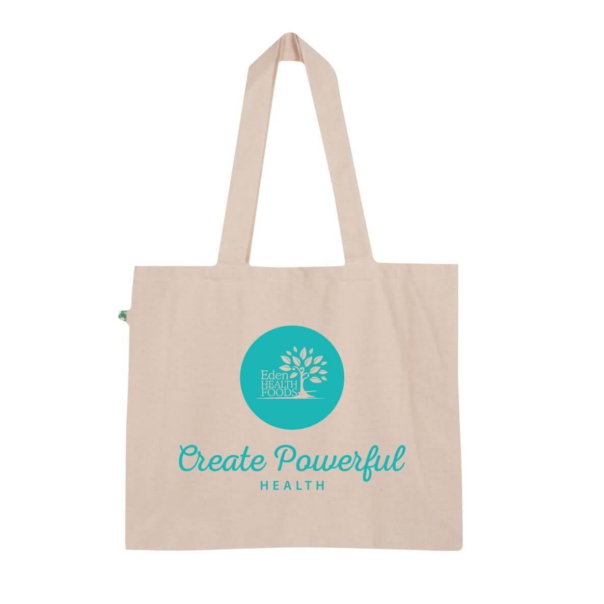 Eden Healthfoods Organic Cotton Large Tote Bag - EZ Organic Shop