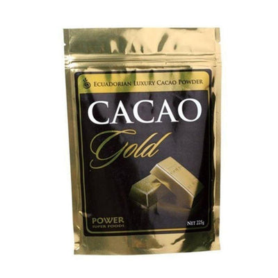 Power Super Foods Cacao Powder Gold Luxury 225g