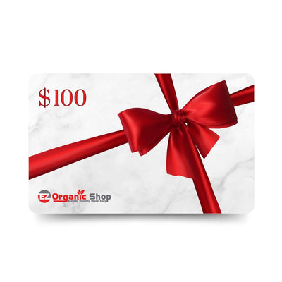 EZ Organic Shop $100 Gift Card