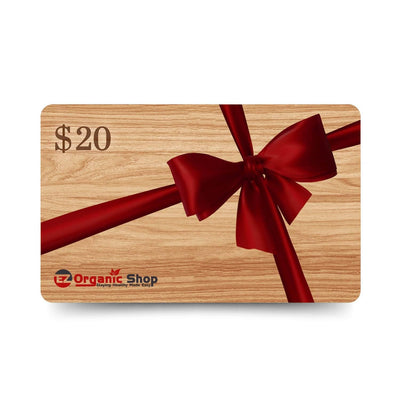 EZ Organic Shop $20 Gift Card