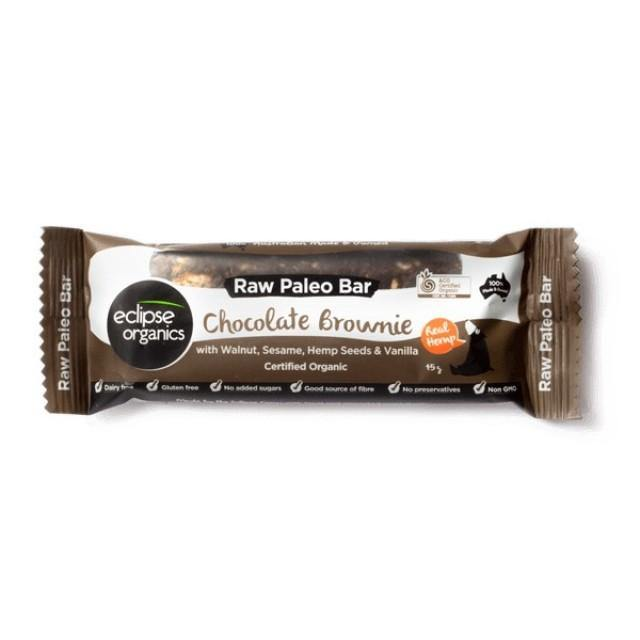 Organic Eclipse Paleo Bar Chocolate Brownie 45g - EZ Organic Shop