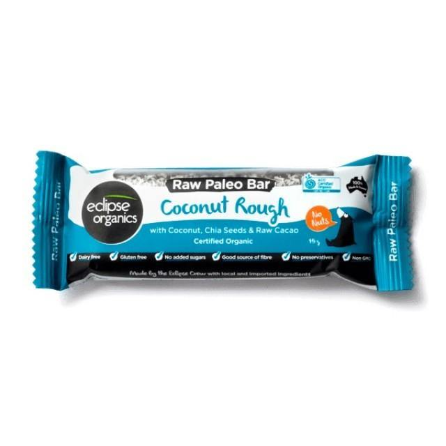 Organic Eclipse Paleo Bar Coconut Rough 45g