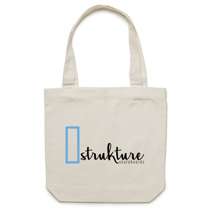 strukture skateboards OG Logo Tote Bag