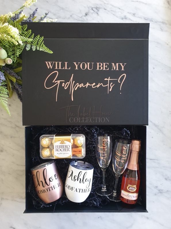 Gift Box - Godparent Proposal Box