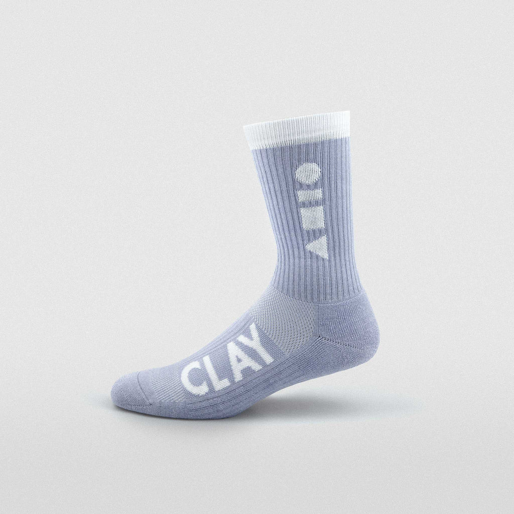 Lavender Clay Sport Sock