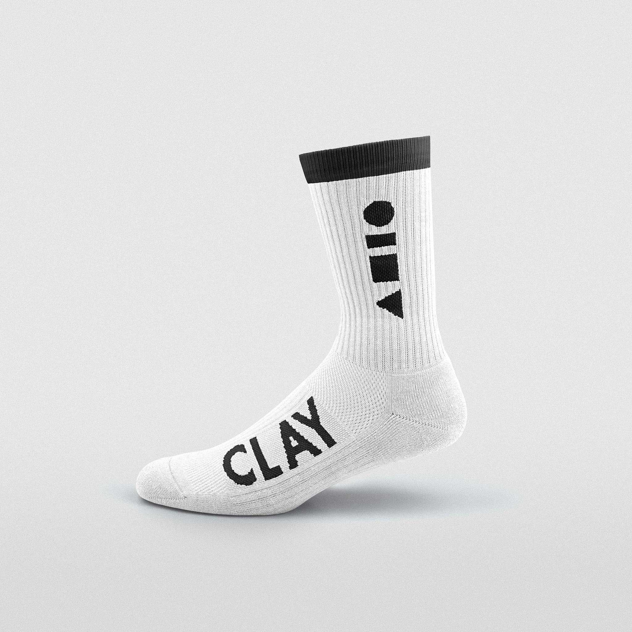 White Clay Sport Sock
