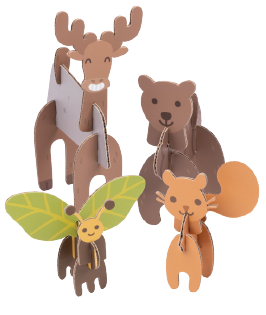 Forest Friends Activity