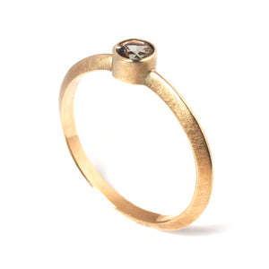 Andalusite Gold Ring