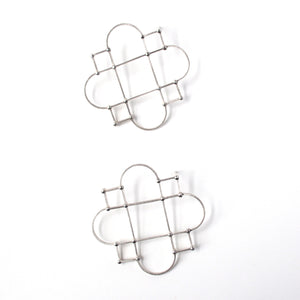 Cornerways Earrings