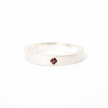 Load image into Gallery viewer, Garnet Pavé Ring