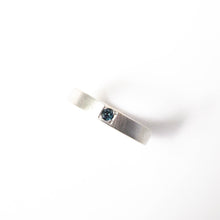 Load image into Gallery viewer, Grey Spinel Pavé Ring