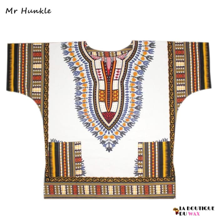 Chemise Top en imprimé Dashiki traditionnel