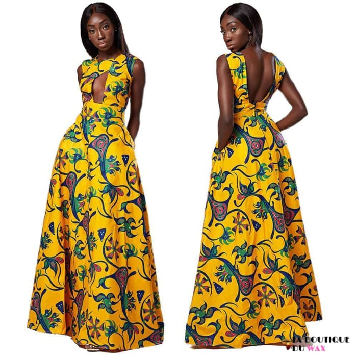 Robe Africaine édition florale