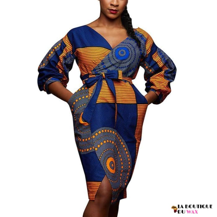 Robes Africaine Bazin Riche