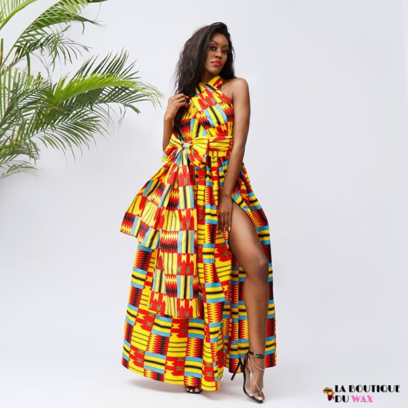 Robes Africaines Imprimée Kente