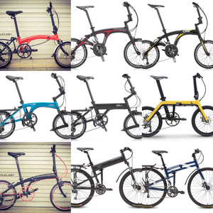 We Have The Complete Range of Folding Bicycles!