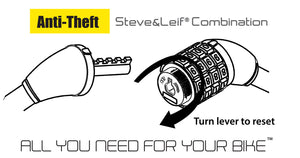 Steve & Leif Bicycle Combination Lock