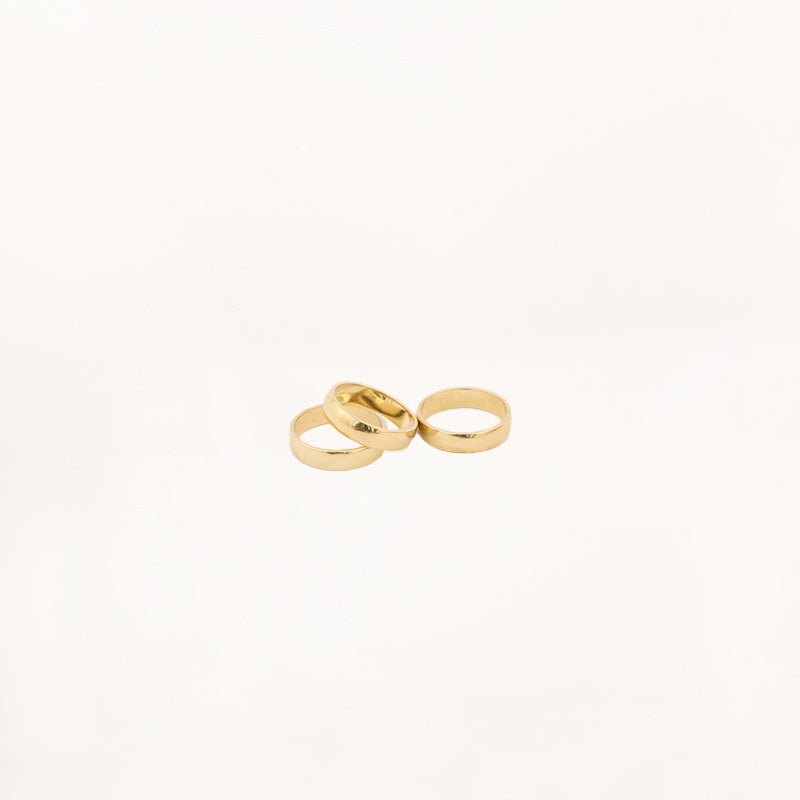 BARDOT ring gold - DRY