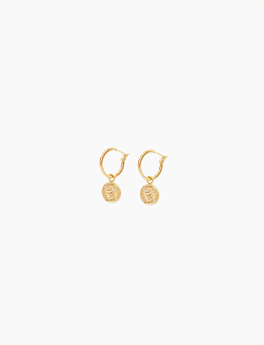 Apollo Earrings Medium - DRY