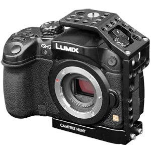 Camera cage with wing handle for Panasonic Lumix GH3/GH4