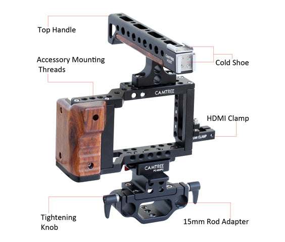 blackmagic pocket cinema camera cage  title=