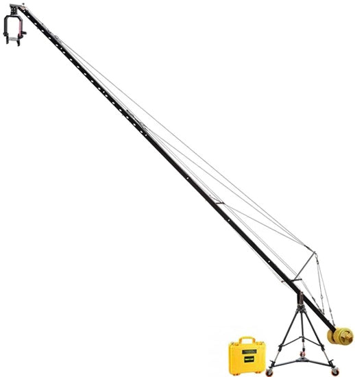 camera jib with head