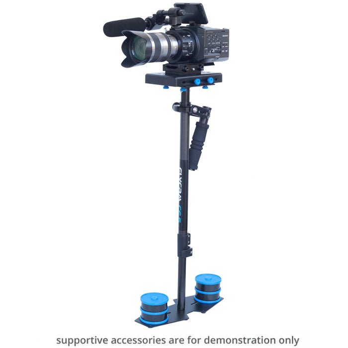 Flycam CF5 Carbon Fiber Video Stabilizer With Free Quick Release Plate