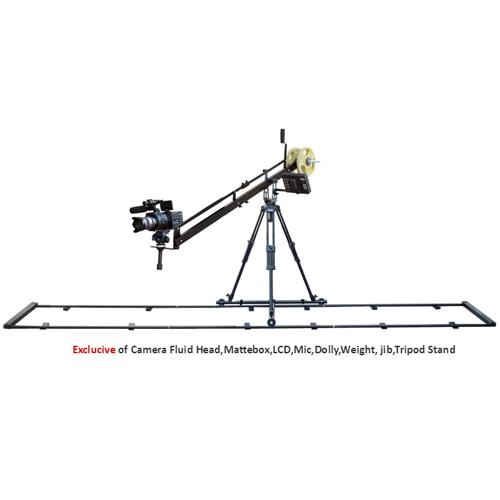 Proaim 12ft Tripod Dolly Black Track (19mm dia)
