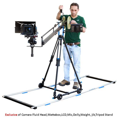 Proaim 12ft Tripod Dolly Silver Track (19mm dia)