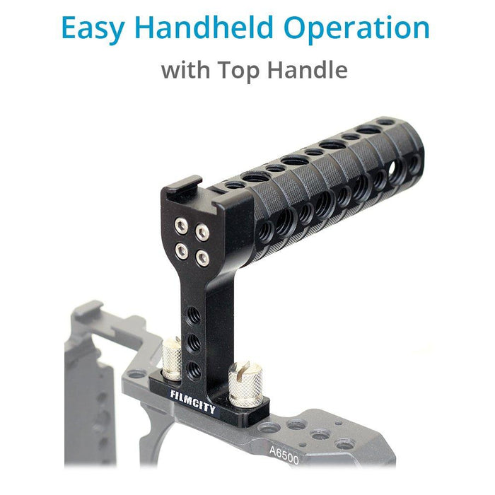 FILMCITY DSLM Handheld Camera Cage Top Handle