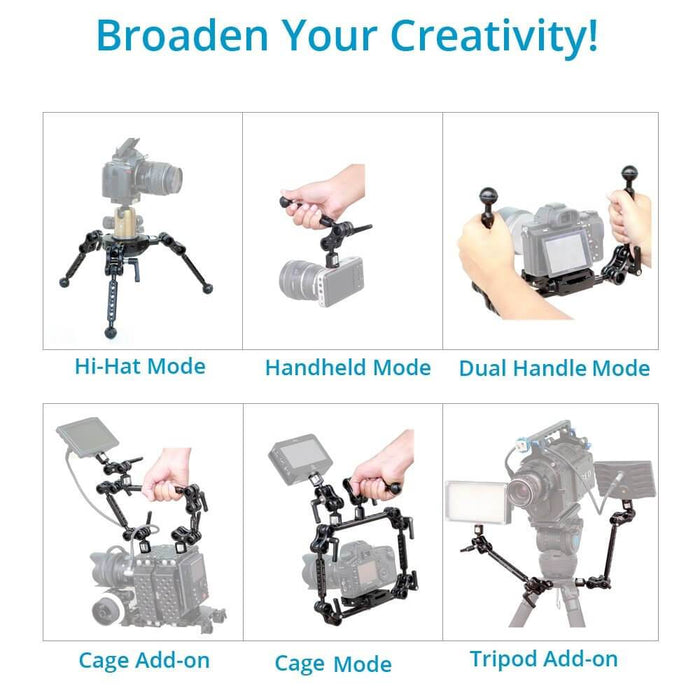 Proaim Muffle Lark Multi-purpose Arm for Monitor / Camera / Accessories