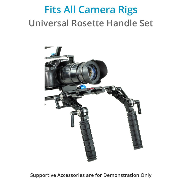 CAMTREE Hunt 19mm/15mm Rosette Handle Set (Arri Standard)