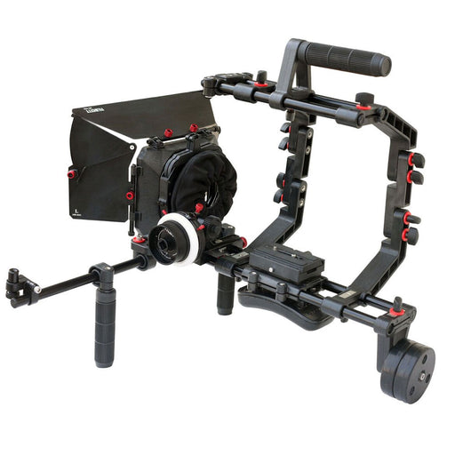 FILMCITY DSLR Camera Cage Shoulder Rig Bundle