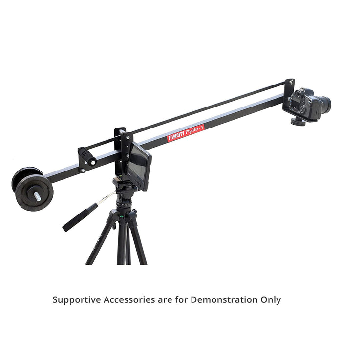 Filmcity Flylite-4 Portable Mini Jib Crane 4ft Supporting Cameras