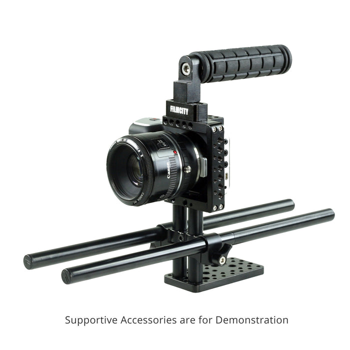 FlyFilms Mini Cage With Rod Support