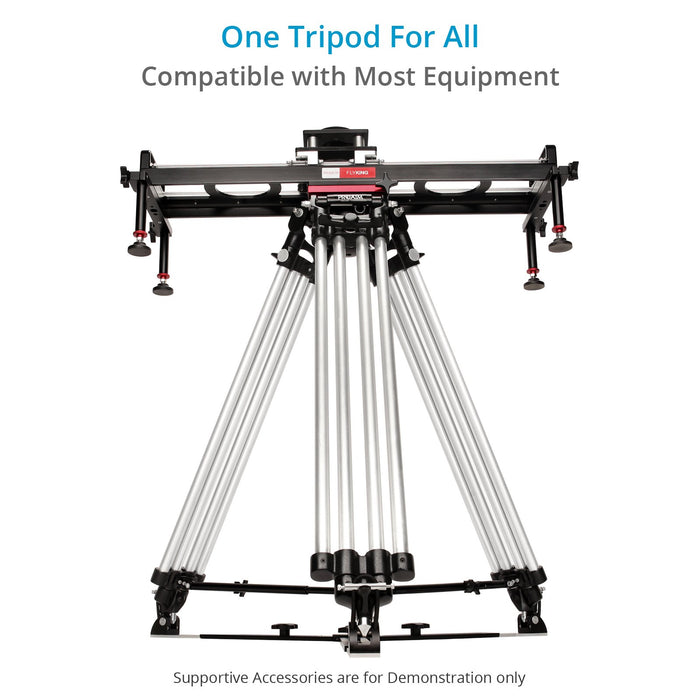 Proaim Heavy-Duty 150mm Tripod Stand with Spreader