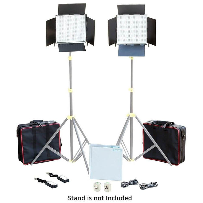 Camtree 2pcs. 1000 White LED Lights Kit