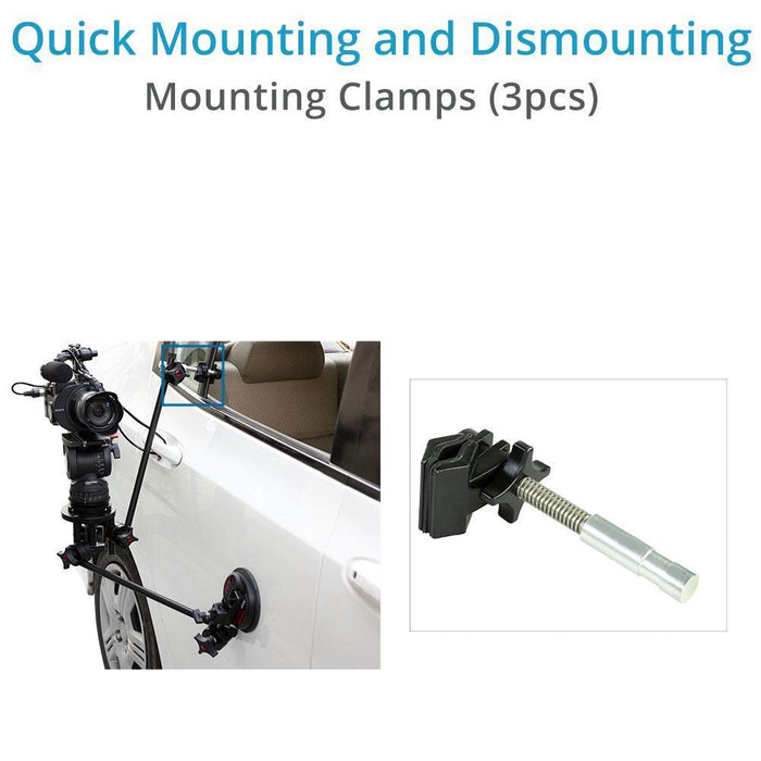 Camtree Gripper G-10 Car Suction Mount