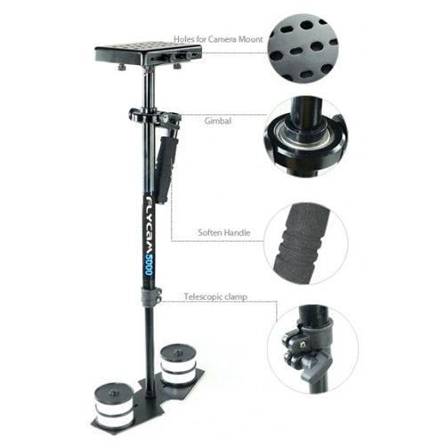 Flycam 5000 Camera Stabilizer with Body Pod