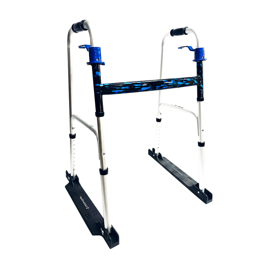 Stabilizer Walker - Be Stable and prevent falls. Best Mobility Walker. Full walker rubber pads