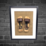 Load image into Gallery viewer, Framed artwork ( Pop out clogs )