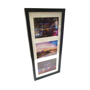 Framed pictures (Singapore skyline)