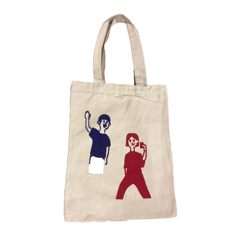 Canvas Tote Bag Wefie