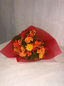 Everlasting dried flowers - Spice Orange Bloom (Imported)