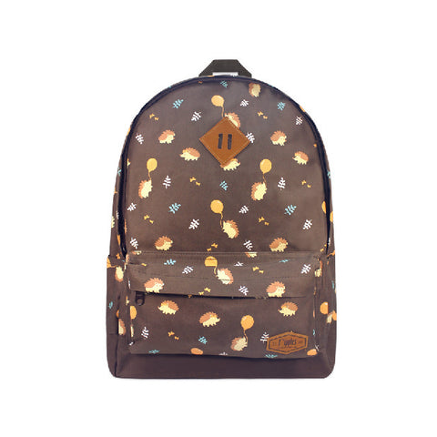 Hedgehog School Backpack