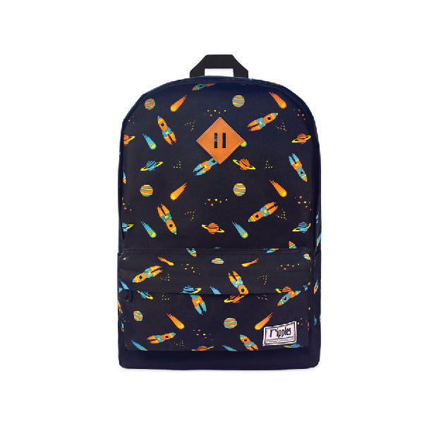Space Rockets School Backpack
