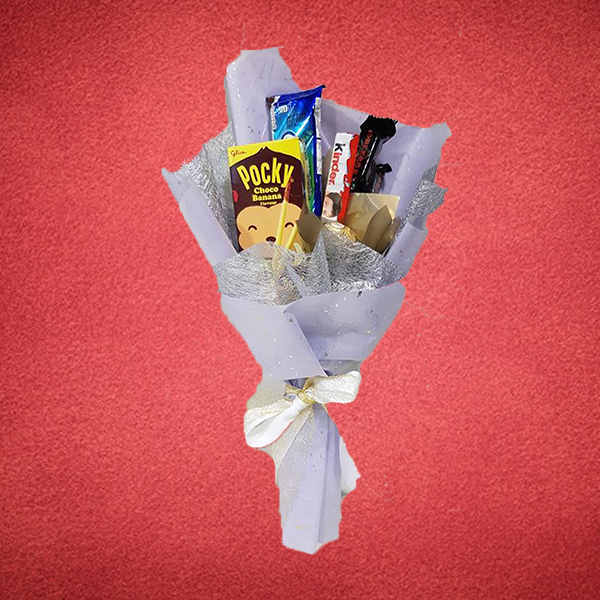 Assorted Snacks Bouquet [CLICK ADD-TO-CART TO PRE-ORDER]