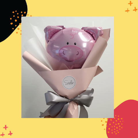 SPACE Mini Bouquet - Pig