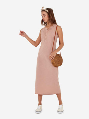 mate the label Avery midi dress side