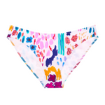 araks veronica bikini bottom in white floral